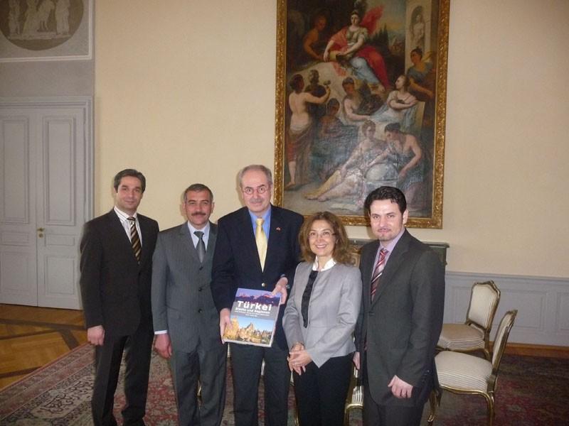 Ehrenmitgliedschaft für Dr. Thomas Bauer, Präsident der Regierung von Mittelfranken