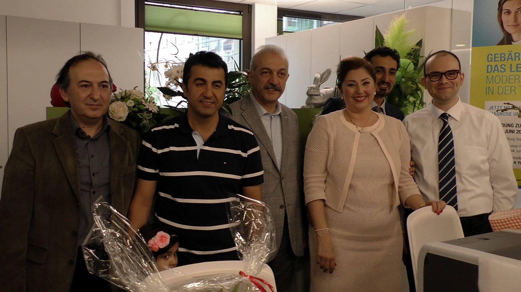 Dr. Neslisah Yilmaz-Terzioglu yeni muayenehanesini açtı