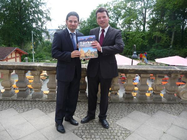 Gespräche mit Oberbürgermeister Dr. Harald Fichtner