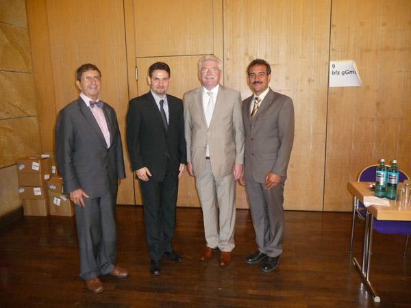 Gespräche mit Bay. Wirtschaftsminister Martin Zeil vom 16.07.2010