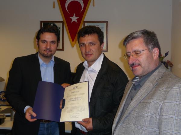 TIAD gratuliert und informiert Nürnberg Dergahspor e.V.